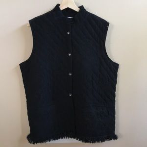 Chico's Embroidered Vest - Chico's size 3 (16)
